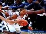 Basketball Player Gets Eye Poked Out
