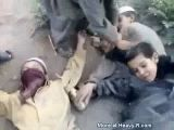 Pakistani Kids Play Suicide Bomber