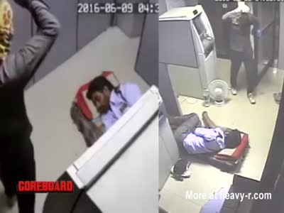 Security Guard Beaten To Death Two Cam Video