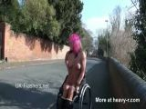Disabled Girl Flashing In Public