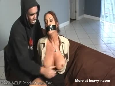 Busty MILF Cop is Raped