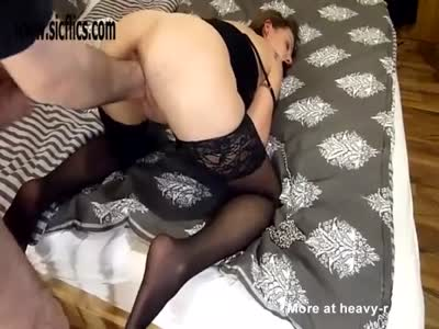 Fisting His Hot Bound Girlfriend