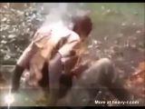 tortura fuego