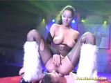 Threesome At Live Sex Show