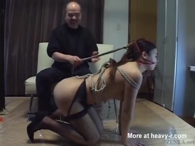 Japanese BDSM On Leash With Anal Play