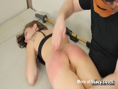 Spicy Teen Gets Her Tight Butt Spanked