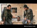Terrorists Making Fun Of Decapitated Man