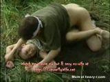Slanteye raped in the woods