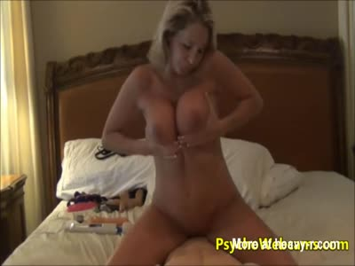 MILF Fucking All Her Sex Toys
