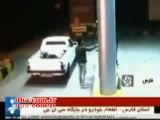 Truck Exploding At Gas Station