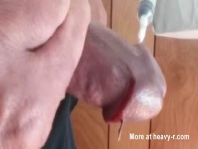needles in cock head