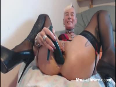 Fucking Pussy With Heel
