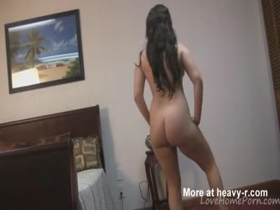 Chubby Naked Girl Dancing And Teasing