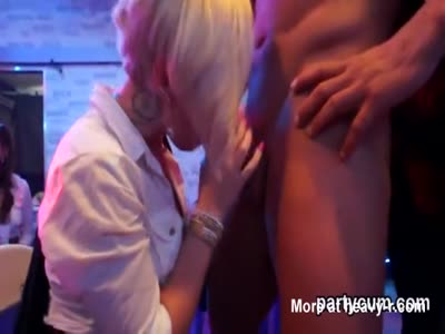 Sexy Party Turns Into Big Orgy