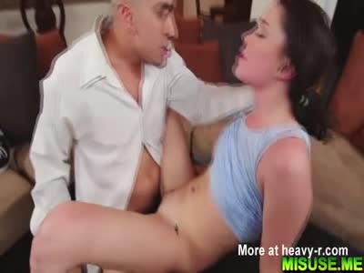 Bruno chokes Ryland Ann with his big cock