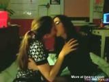 Teens First Lesbian Kiss