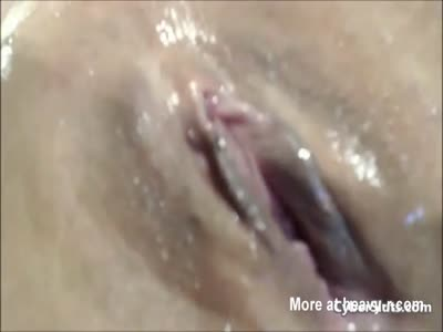 Wet And Juicy Pussy Squirt In Closeup