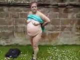 Grandma outdoor