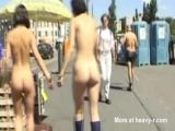 Walking Naked In Public
