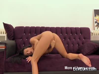 Finger Fucking Herself To Orgasm