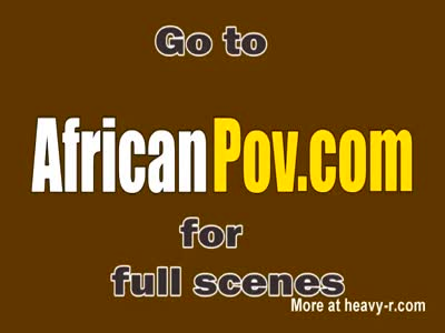 African amateur ebony riding white cock interracial
