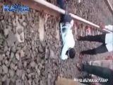 Man Cut In Half And Still Alive