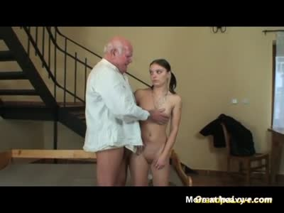 Dirty Grandpa Fucks Sexy Teen