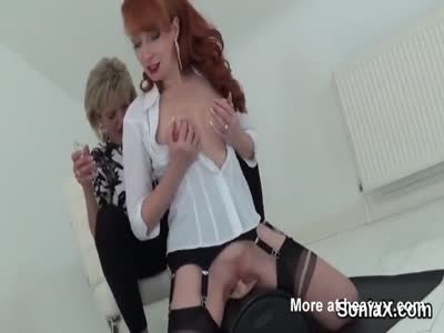 Mature Ladies Riding Fuck Machine