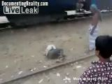 Train Roof Riding Accident