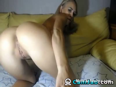 Horny Girl Teasing And Fingering