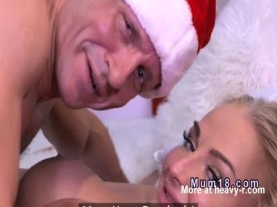 Santa Makes Her Smile
