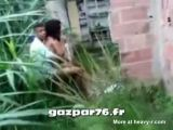 Black Teens Busted Fucking Outdoor