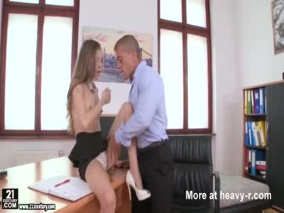 Rebel Lynn got pounded in the office with Matt Bird