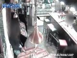 Machine Gun Execution In An Amsterdam Cafe