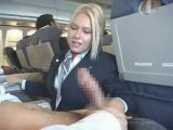 Stewardess Provides Extra Services