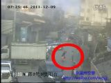 Child rescued from under a car in China
