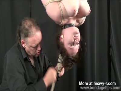 Hanging Up Submissive Girlfriend