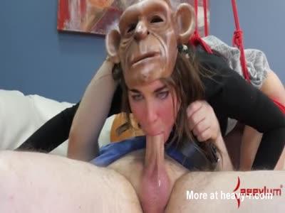 Anal Monkey Girl