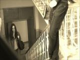 Pervert Wanking To Girl In Public