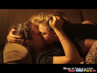 Girlfriend Has Sex With Her Lesbian Friend