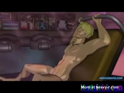 Hentai gay hunks hardcore fucked and juiced