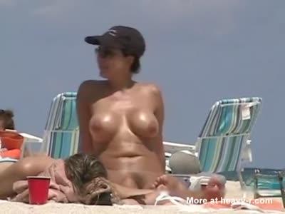 Tanning Fake Tits