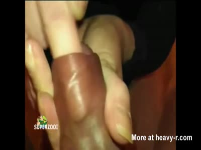 Weird Looking Handjob