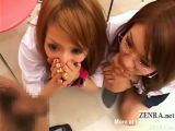 Japanese Schoolgirls Check Up Penis