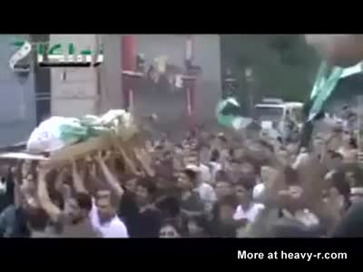 Suicide bomber gone wrong