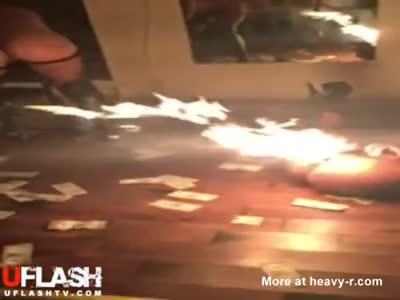 Flaming Ass Stripper