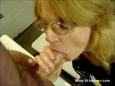 Mature Blowjob Buddy Deep Throat At Work