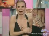 Boob Slip On Italian TV
