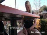 Teen Blonde Fingering In Public