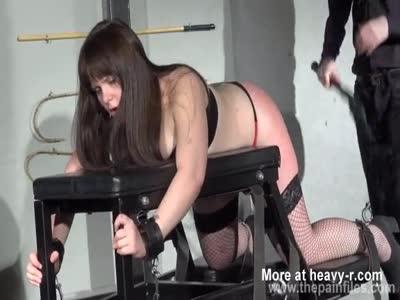 Chubby Slave Slut Caned